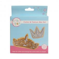 Crown Cutter and Texture Mat Set