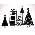 Patchwork Cutters Christmas Trees & Parcels