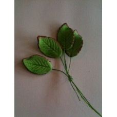 Wired rose leaf